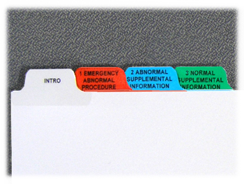emergency index tabs