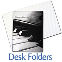 custom printed desk folders