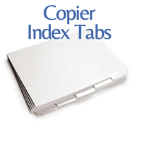 Copier Index Tabs Presentation Tabs Colored Index Tabs